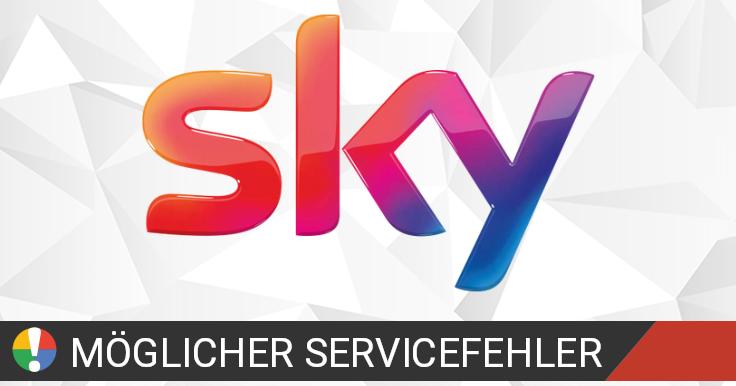 Sky Ausfall Oder Service Funktioniert Nicht Aktuelle Probleme Und