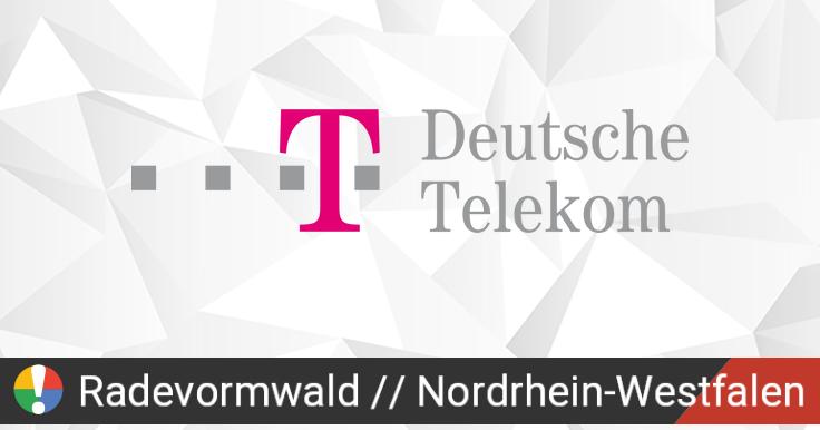 Telekom Störung Remscheid
