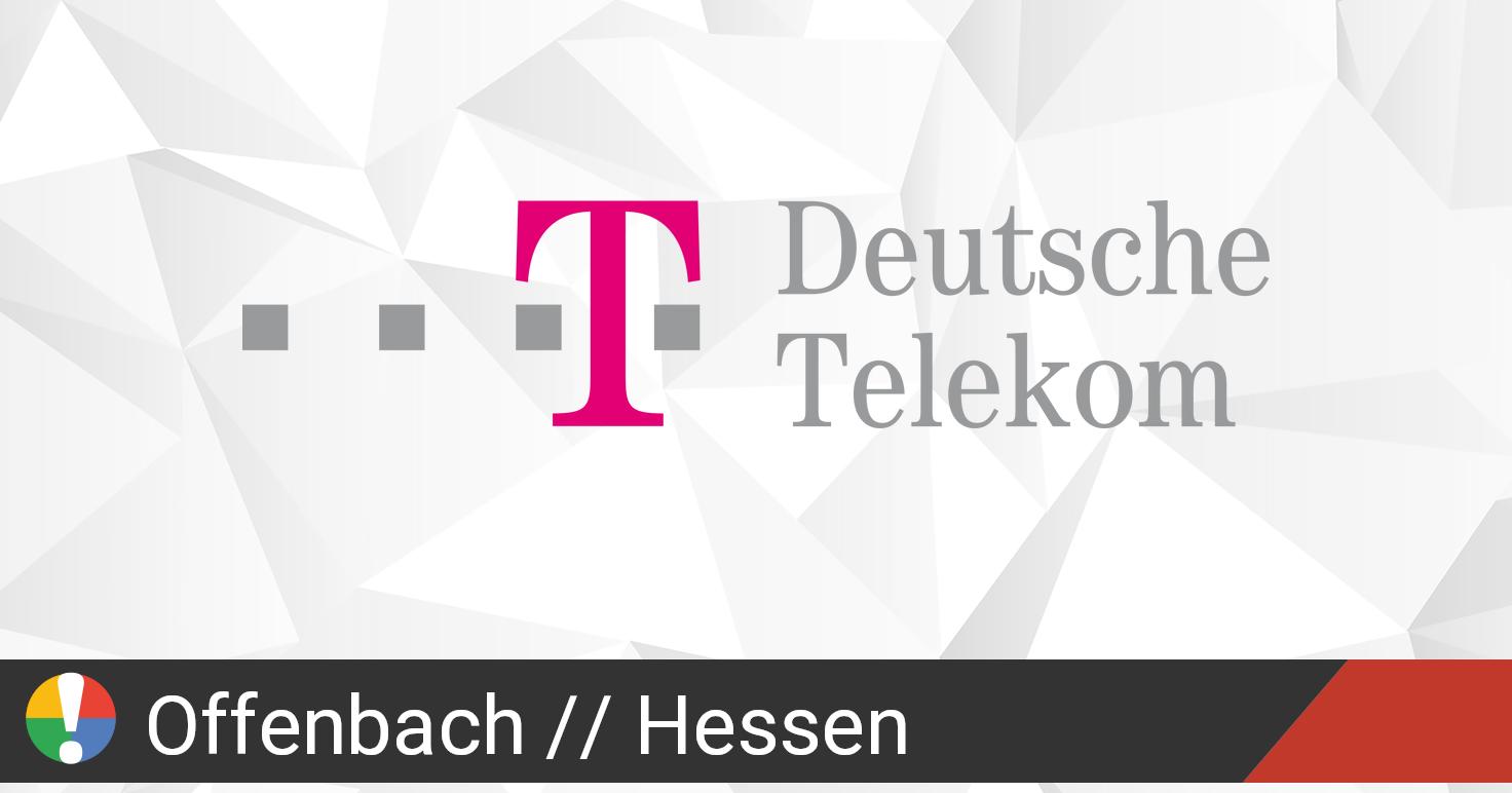 Telekom Störung Offenbach