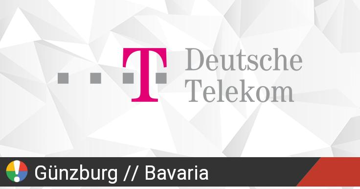 Deutsche Telekom in Günzburg, Bavaria Ausfall oder Service ...
