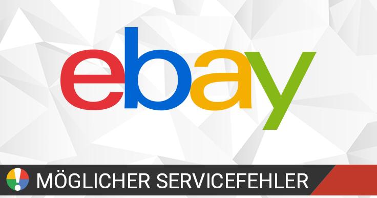 ebay funktioniert nicht aktueller status und probleme. Black Bedroom Furniture Sets. Home Design Ideas