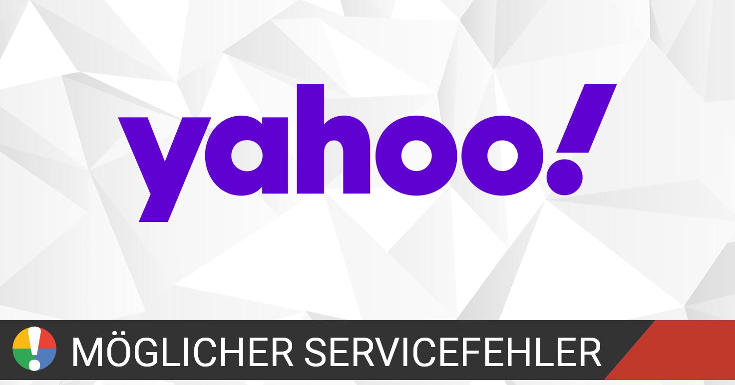 Yahoo Mail funktioniert nicht Aktueller Status und Probleme ...