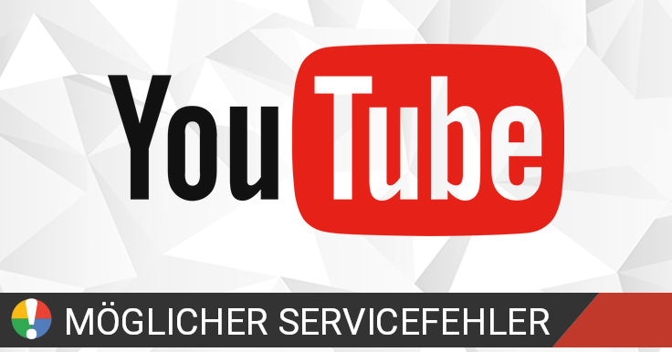 youtube app macht probleme