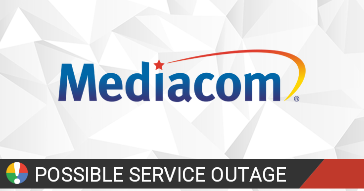 Mediacom Outage Map • Is The Service Down?