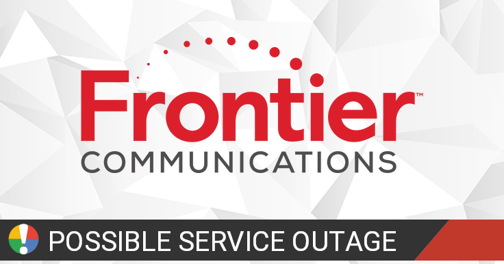 Frontier In Tampa Hillsborough County Florida Outage Or Service Down Cur Problems And Outages Is The