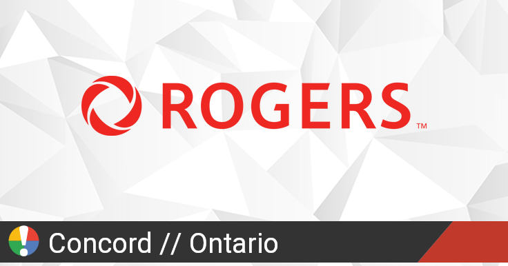 Rogers Outage in Concord, Ontario: Current Problems and ...