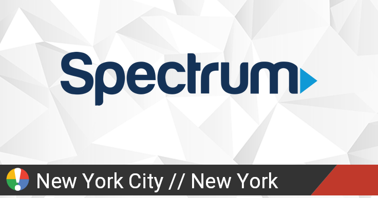 Spectrum Outage in New York City, New York: Current Problems