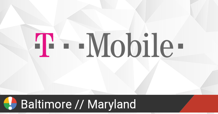 T-Mobile Outage in Baltimore, Maryland: Current Problems and