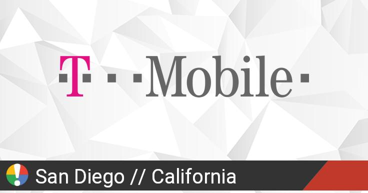 T-Mobile Outage in San Diego, California: Current Problems