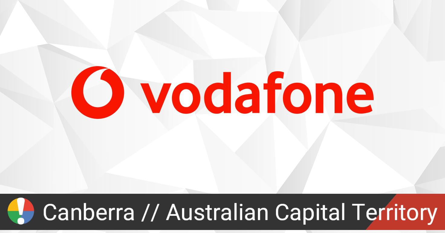 Vodafone Australia Outage in Canberra, Australian Capital ...