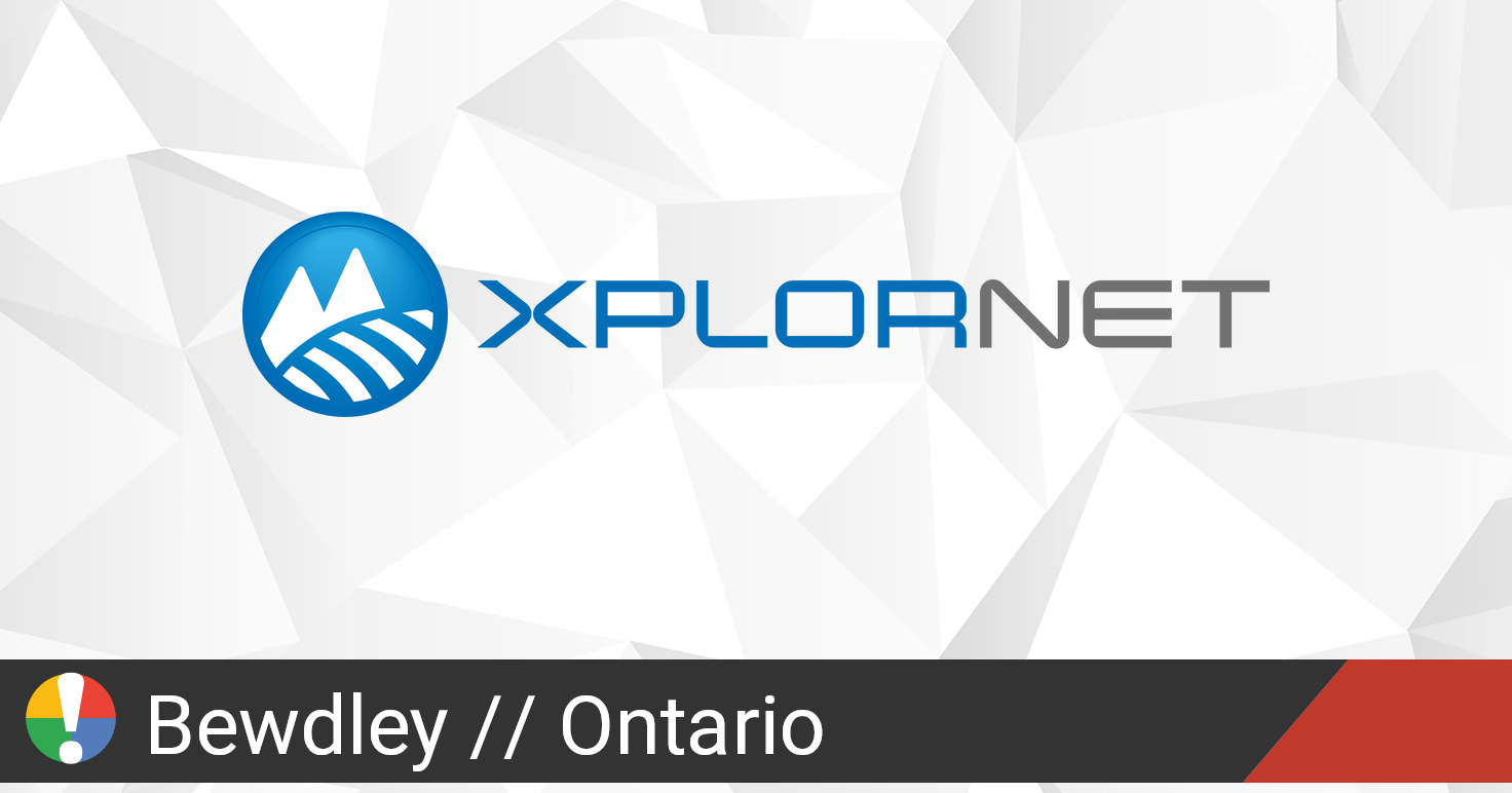 Xplornet Outage in Bewdley, Ontario: Current Problems and ...