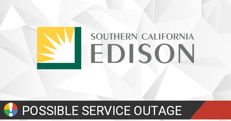 Southern California Edison Outage Map Is The Service Down
