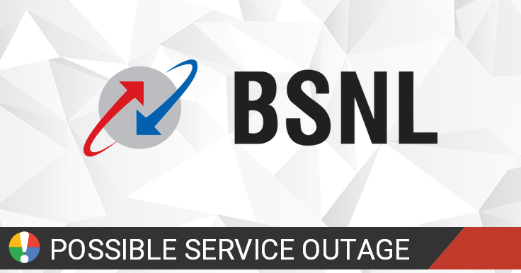 BSNL Outage: Current Problems and Outages • Is The Service