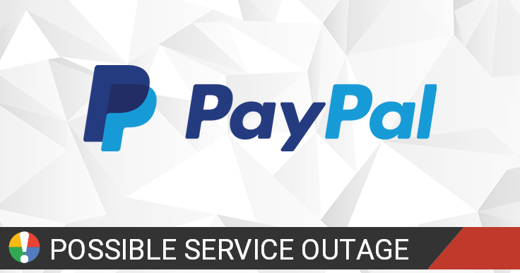 Paypal down? Current status and problems • Is The Service Down?