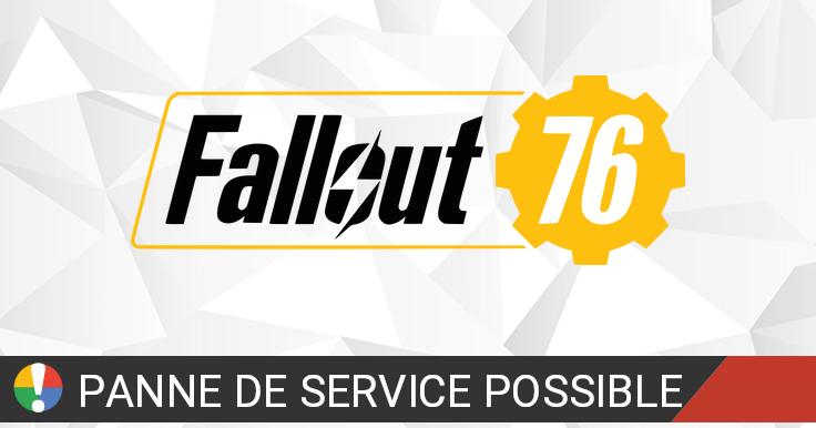 Fallout 76 rencontre des problèmes? Situation actuelle